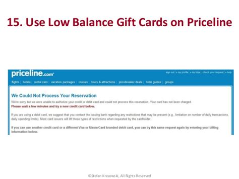 Priceline Gift Card Balance - 101 tips tricks and hacks to be an expert traveler rapid travel ch