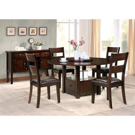 drop leaf dining table with storage steve silver gibson drop leaf dining table with storage