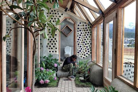 Earthship Floor Plans by Michael Reynolds Lands Self Sufficient Earthship At The