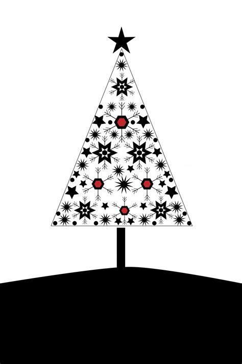 weihnachtsbaum karte moderne kostenloses stock bild