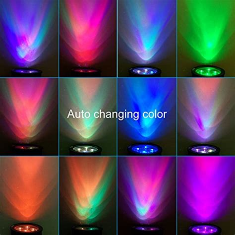 solar lights that change color outdoor led solar spotlight wall light multi color
