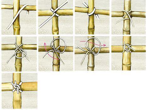 gestell zum holz schneiden z 228 une aus bambus selber machen heimwerkermagazin