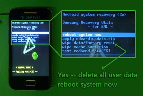 hard reset android que es como retirar senhas e restaurar o seu celular hard