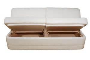 comp3 i custom sofa 61 82l w storage glastop inc - Storage Sofa