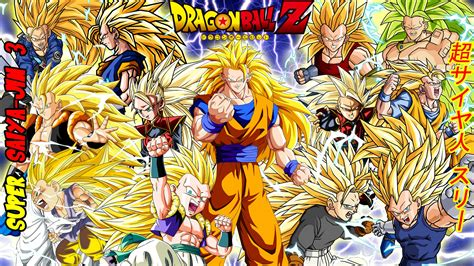 wallpaper dragon ball z super dragon ball z super saiyajin 3 full hd fond d 233 cran and