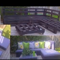 Diy Patio Furniture by Gallery For Gt Diy Pallet Patio Furniture