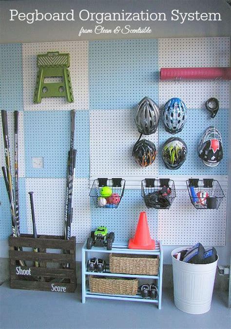 Garage Organization Sports Equipment 25 Best Ideas About Sports Equipment Storage On
