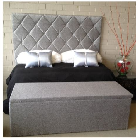 size upholstered bed upholstered headboard