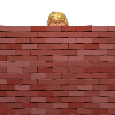 wall trump  caricature dedipic