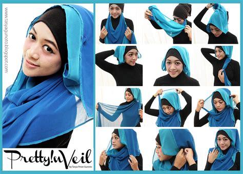 tutorial jilbab pesta 2 jilbab dunia berhijab cara cara berhijab
