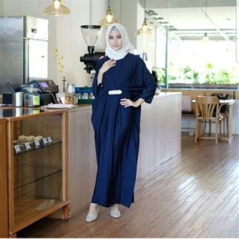 Dress Kaftan Terbaru baju dress gamis kaftan model terbaru
