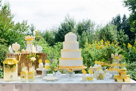 Tischdeko Hochzeit Gelb by Moments Endless Ein Zitronengelbes Styled