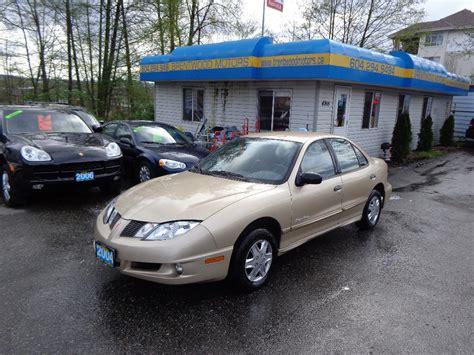 Pontiac Sunfire Specs by 2004 Pontiac Sunfire Sedan Pictures Information And