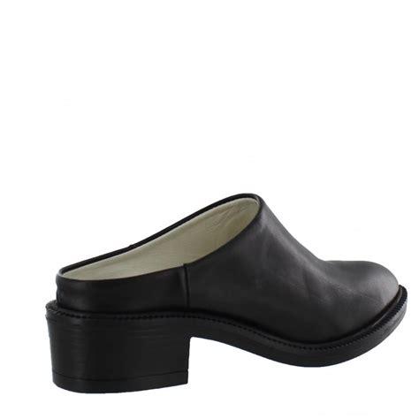 marta jonsson womens mule shoe 4852l s black shoes