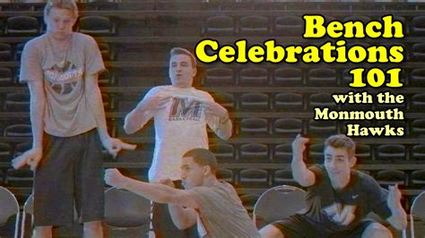 bench celebration bench celebrations 101 feat the monmouth hawks youtube