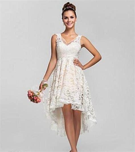 1612005 Gaun Pengantin Putih Wedding Gown Wedding Dress antik spaghetti pendek gaun pengantin gaun pengantin 2015 v leher putih renda gaun pengantin