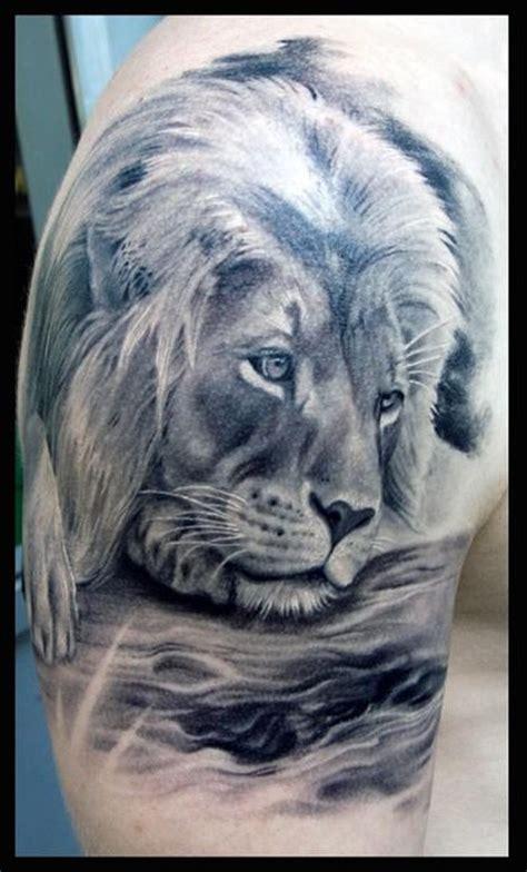 tattoo animal lion lion tattoo designs for men shoulder animal tattoos for
