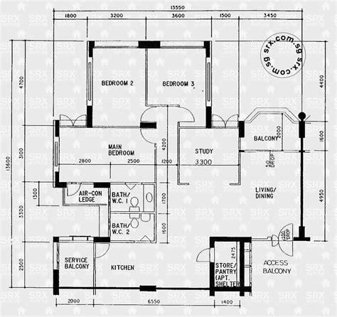 floor plan hdb floor plans for sembawang drive hdb details srx property