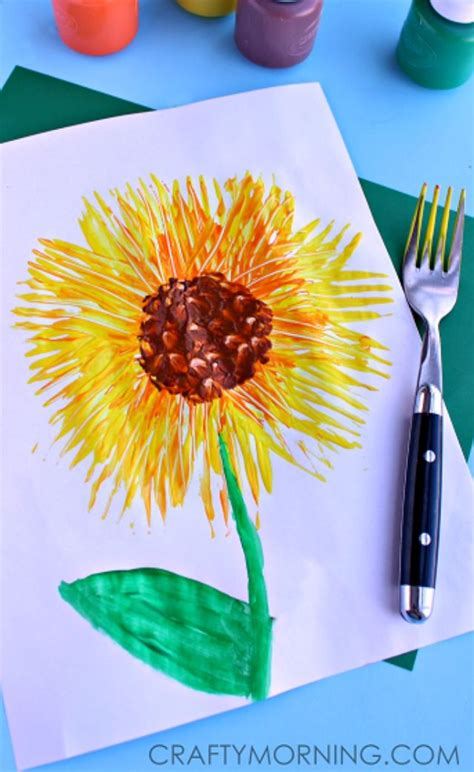 sunflower crafts for 25 best ideas about sunflower crafts on