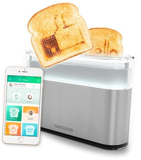 smart countertop message engraving toasters smart toaster