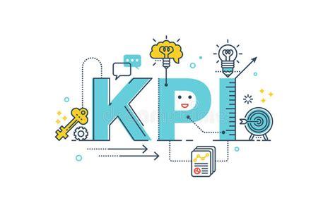 theme line pulsa xl kpi key performance indicator word stock image image