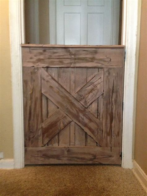 Barn Door Baby Gate Car Interior Design Barn Door Baby Gate