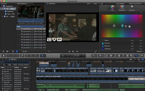 templates for cut pro x cut pro x network storage workflow fcpx shared sns