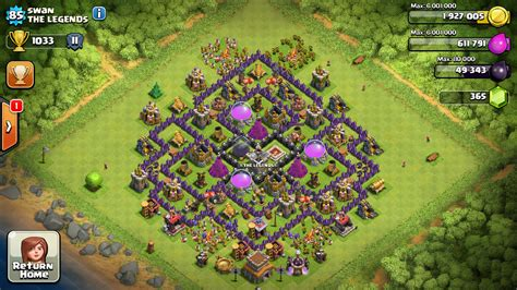 best clash of clans town hall 8 farming clash of clans town hall level 8 farming base www