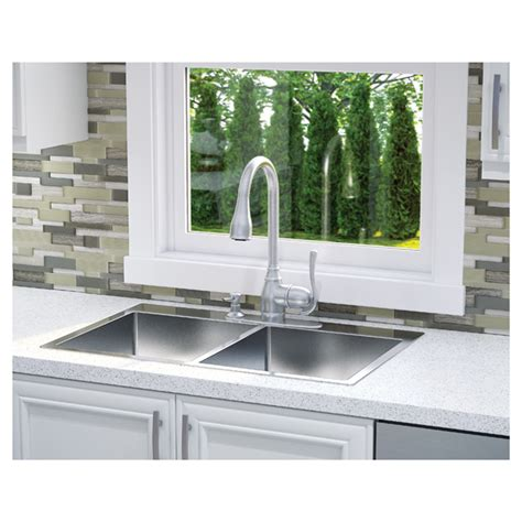 professional kitchen sink professional stainless steel kitchen sink rona