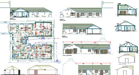 home design autocad free house plan autocad drawing free home design and style