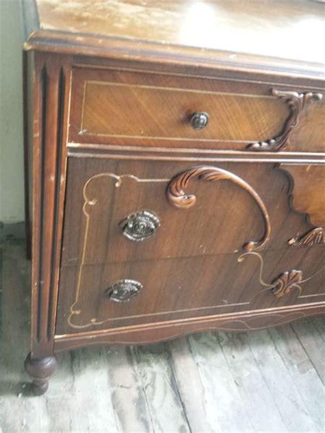 antique waterfall vanity dresser antique art deco waterfall dresser with mirror brielity