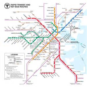 Bus Routes Map by Online Maps Boston Bus Map