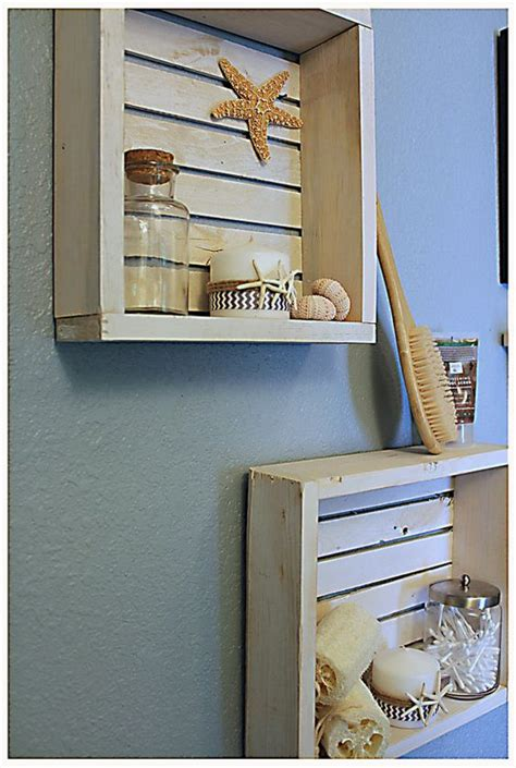 nautical bathroom storage white nautical shelf bathroom shelf crate