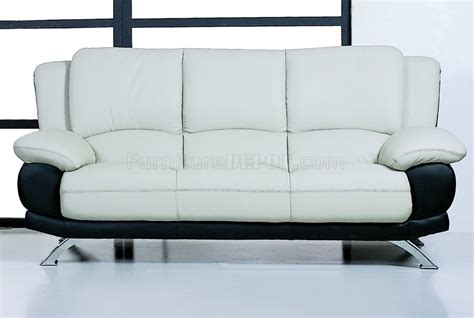 gray and black leather upholstery comfortable living room sofa
