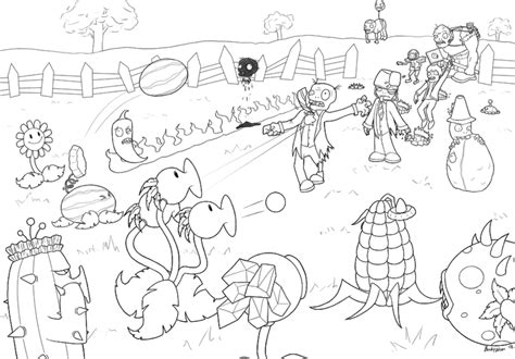 coloring book vs views plants vs zombies coloring pages for fitfru style