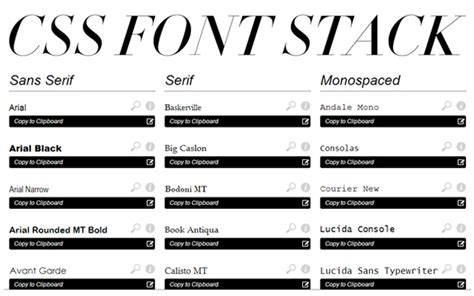 New Design Font Css | 40 css apps tools and resources for web developers
