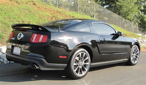 2011 ford mustang gt black black 2011 ford mustang gt california special