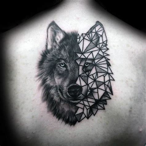 geometric tattoo 90 geometric wolf tattoo designs for