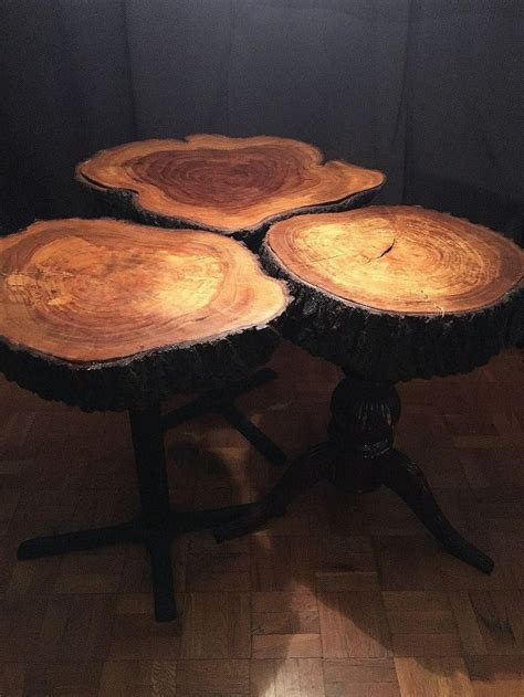 tree trunk dining table tree trunk dining room tables hometalk