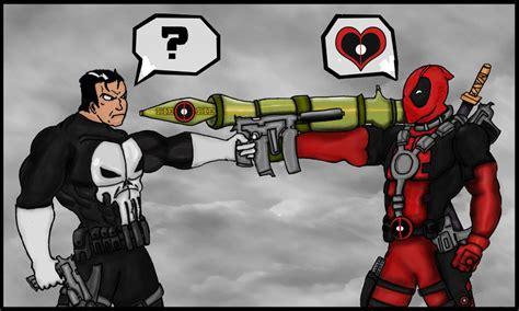 deadpool vs the punisher deadpool vs punisher by icemouth on deviantart