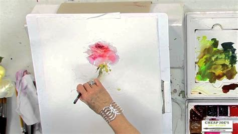 cheap joe s watercolor tutorial watercolor techniques with janet rogers painting roses