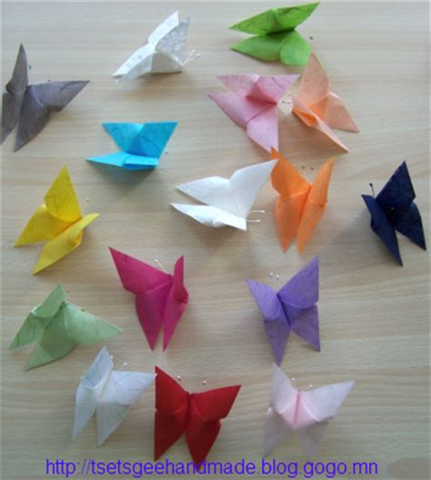 origami butterfly mobile tsetsgee origami butterfly mobile tutorial