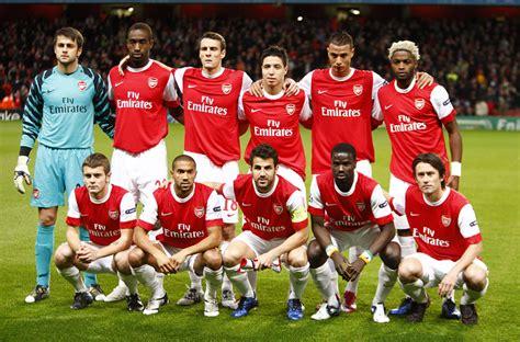 arsenal squad 2010 soccer uefa chions league group h arsenal v