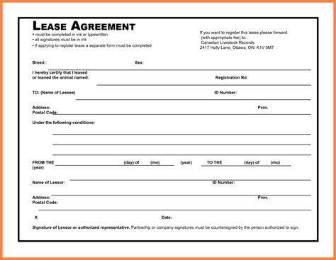 4 simple commercial lease agreement template purchase