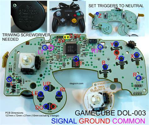 Remote Switch 4 Jalur gamecube controller diagram gamecube free engine image