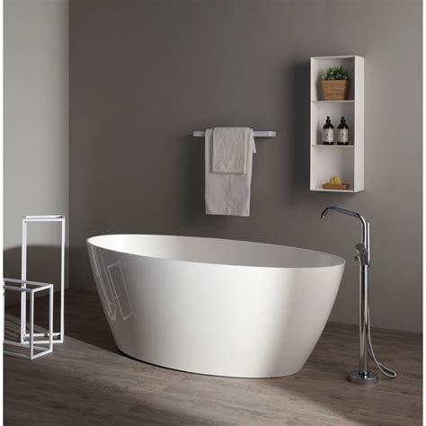 vasca da bagno moderna vasca da bagno in resina di marmo freestanding kvstore