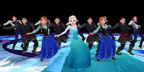 film frozen yang baru dan para tokoh frozen pun menari ala michael jackson
