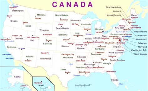 us map with main cities map of usa with major cities thempfa org