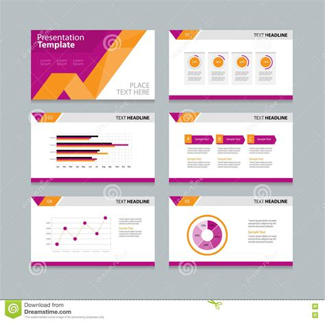 layout design z page presentation layout design template stock vector