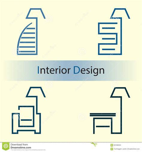 interior design logo vector free interior design stock vector image of hotel luxurious 60186004